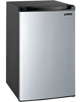 4 Cu Ft Refrigerator Stainless Steel MCBR440S2 - magic chef