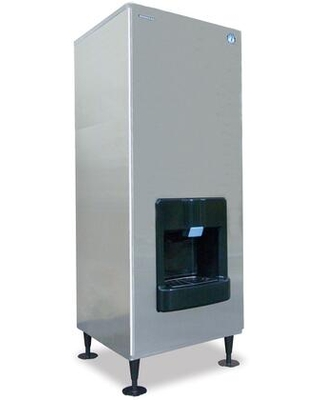 DKM 500BWJ Serenity Series Crescent Cube Ice Maker with 545 lbs of Ice Production 140 lbs Storage Capacity Stainless Steel Evaporator and - hoshizaki