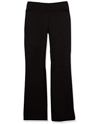 Women's Crepe Double Knit Cropped Flare Pant L - anne klein