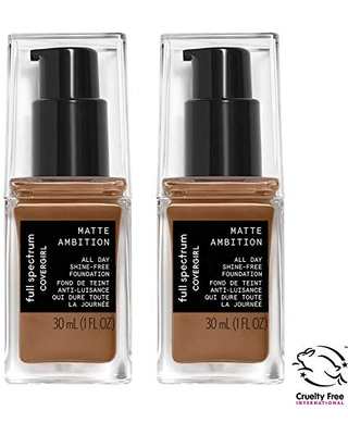 Full Spectrum Matte Ambition All Day Foundation 2 Count - covergirl