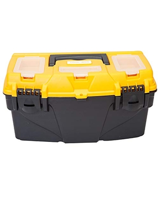 ATRJH 3015B Torin Plastic Storage Tool Box with Removable Tray - big red