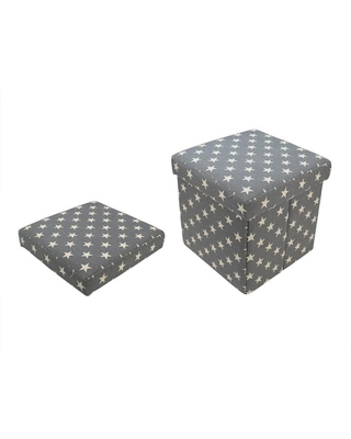 with Stars Collapsible Ottoman By Michaels(r) - northlight