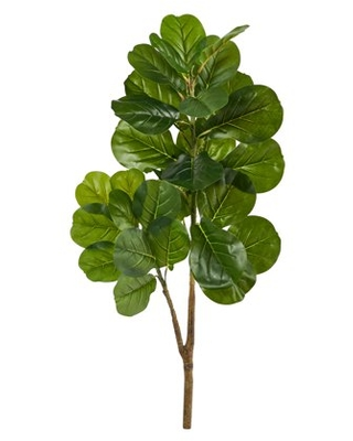 5ft Fiddle Leaf Fig Artificial Tree - nearly natural
