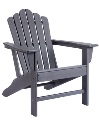 Folding Adirondack Chair Patio Chairs Lawn Chair Outdoor Chairs Painted Adirondack Chair Weather Resistant Ideal for Lawn Garden Firepit - unbraned