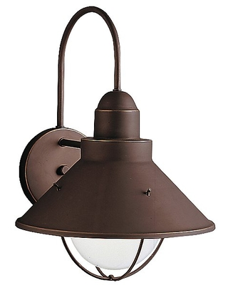 Seaside Outdoor Wall Light by Finish Oil Rubbed - kichler