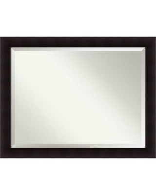 Wall Mirror Oversize Large, Portico Espresso 46 x 36-inch - oversize large - 46 x 36-inch
