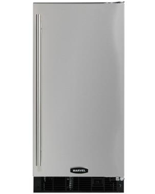 30iMT BS F R Clear Ice Maker with 30 lbs Ice Storage 34 lbs Daily Production Auto Defrost in Stainless Steel with Right Door - marvel