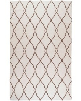 Hand woven Colossus Flatweave Wool Area Rug - undefined