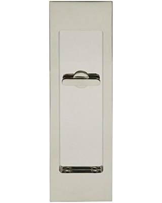 INOX FH2782-32 PD Series Pocket Linear Flush Pull with Tt08 Thumb Turn, Polished Stainless Steel
