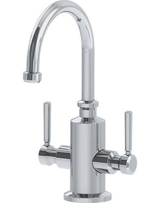 Absinthe Collection LB15200 5 GPM Deck Mounted Little Butler Hot and Cold Water Dispenser Faucet in Polished - franke