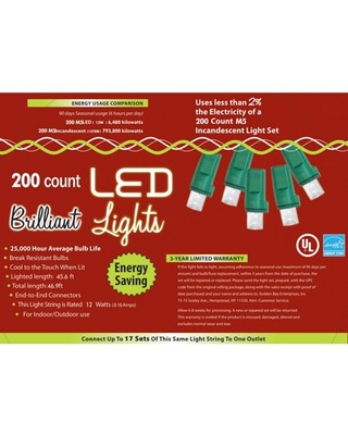 LED Pure Holiday Lights 200l M5 Halloween Decoration - online