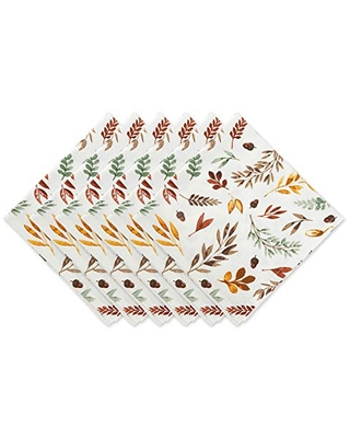 Autumn Collection Tabletop Essentials Napkin Set 6 Count - dii