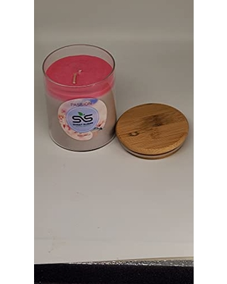 Passion Soy Candle Love Spell Scented - sweet sugar all natural products