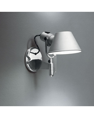 Michele De Lucchi and Giancarlo Fassina Tolomeo 8 Inch LED Wall Sconce Tolomeo A0447W58 Transitional - artemide