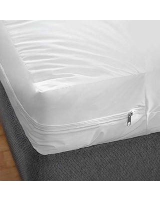 MABIS Waterproof Mattress Protector and Cover Encased Zippered Fit Hospital Bed Inch - dmi