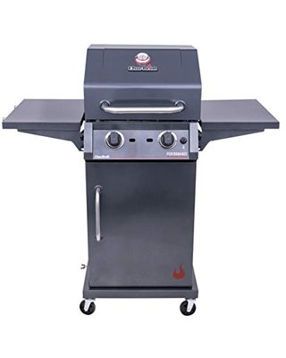 463655621 Performance TRU Infrared 2 Burner Cabinet Style Liquid Propane Gas Grill - char-broil