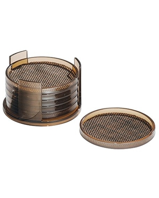 Twillo Plastic Drink with Holder for Home Counters Kitchen Dining Room Living Room Patio Coffee Table Bronze - idesign