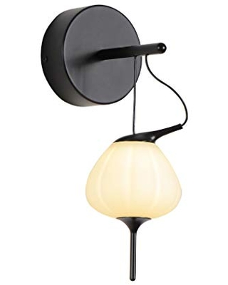 Lecce VAW1221BL tegrated LED Wall Sconce Lighting Fixture with Glass Shade - vonn lighting