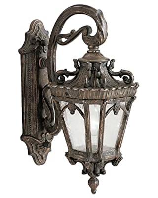 Tournai 1 Light Outdoor Wall Light with Clear Seeded Glass - kichler
