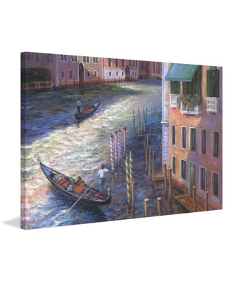 """""""Grand Canal"""" Painting Print on Wrapped Canvas - marmont hill"""