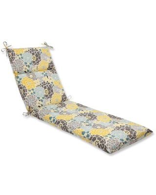 Outdoor Indoor Lois Vapor Chaise Lounge Cushion 1 Count - pillow perfect