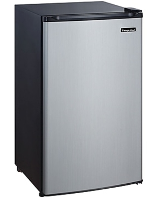 5 Cubic ft Refrigerator Stainless Look MCBR350S2 - magic chef
