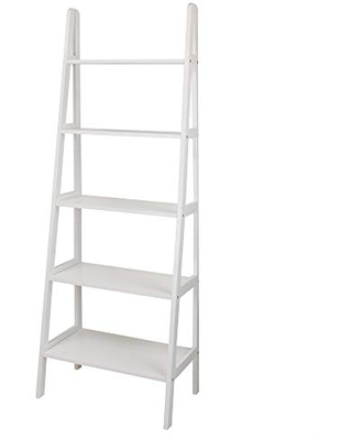 5 Shelf Ladder Bookcase New - casual home