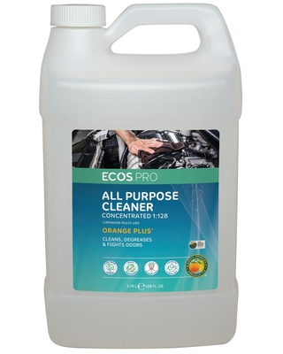 1 128 Plus Concentrate All Purpose Cleaner and Degreaser - ecos pro