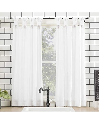 Washed 100% Cotton Twist Tab Curtain - archaeo