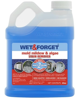 43 fl oz Liquid Mold Remover 800015 - wet and forget