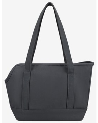 Canvas Dog Bag Carrier Tote Charcoal - waggo