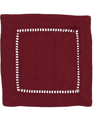 Rochester Collection Table Napkins with Hemstitched Border - saro lifestyle