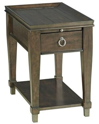 Sunset Valley Collection 197 916D CHAIRSIDE TABLE in Rich - hammary