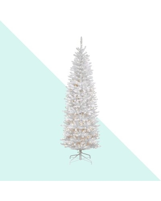 Kingswood Fir Christmas Tree with Clear Lights - the holiday aisle