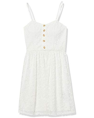Women's Allover Lace Fit and Flare Dress - a. byer
