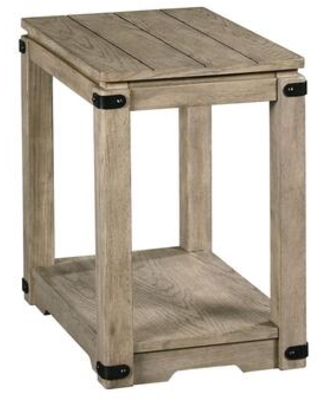Marin Hamilton Collection 836 916 CHAIRSIDE TABLE in Aged Dusty - hammary