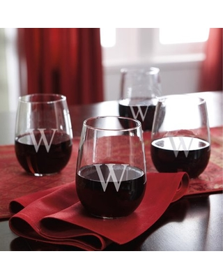 Personalized Stemless Wine Glasses - online