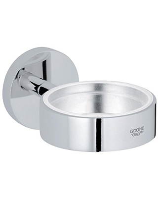 Essentials Holder For Glass Soap Dish Or Soap Dispenser - grohe