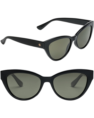 Indio Polarized Cat Eye Sunglasses in Gloss at Nordstrom - electric