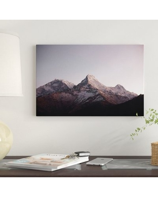 Annapurna Himalayas Nepal II' by Luke Anthony Gram Graphic Art Print on Wrapped Canvas - east urban home