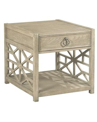 Vista Collection 803 915 BISCAYNE DRAWER END TABLE in - american drew