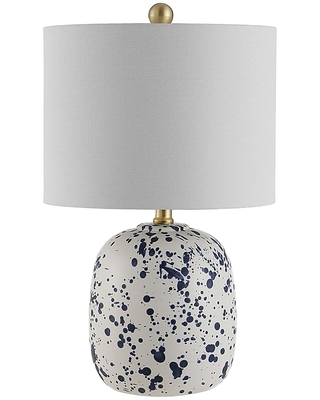 Wallace Led Table Lamp With Cotton Shade - safavieh