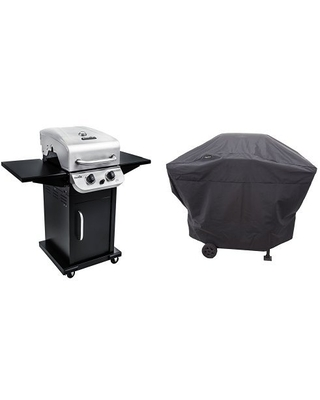 463673519 Performance Series 2 Burner Cabinet Gas Grill includes 4828737P04 Grill Cover - char-broil
