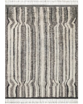 Easterly Hand Knotted Stone Charcoal Rug - allmodern