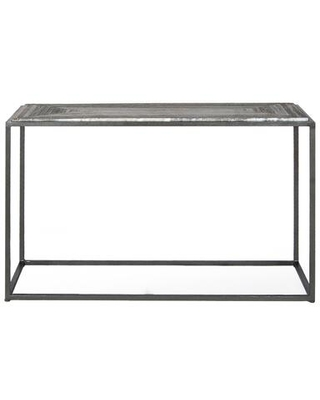 Winslow Marble Collection GK 1003 15 Console Table with Iron Frame - moes home collection