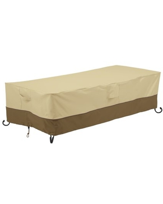 Veranda Water Resistant 60 Inch Rectangular Fire Pit Table Cover - classic accessories