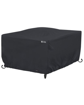 Water Resistant 52 Inch Square Fire Pit Table Cover - classic accessories