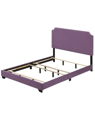 ACME Haemon Bed in Light Fabric - acme furniture