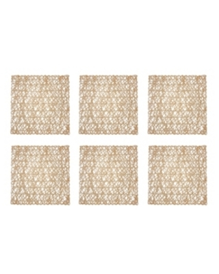 Woven Paper Square Placemat - design imports