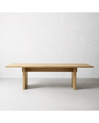 Cortina Rectangular Dining Table Natural Oak - undefined